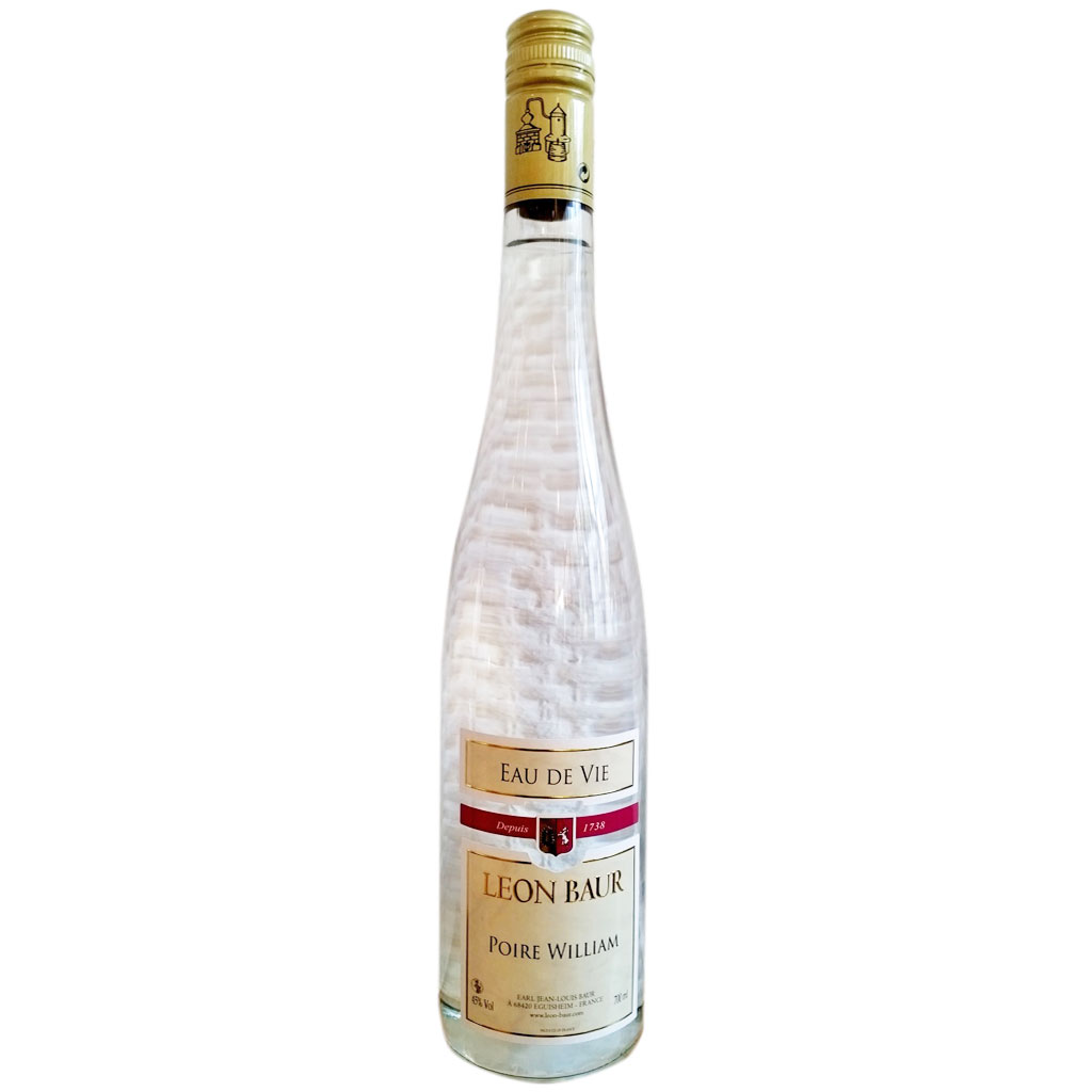 Poire williams maison leon baur for Alcool de poire maison